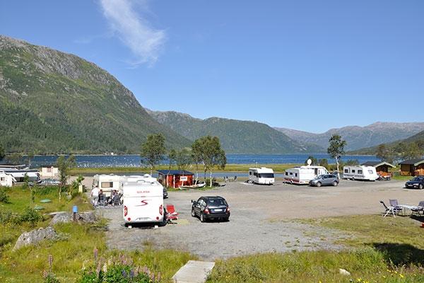 Bilde av en campingplass