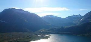 Oversiktsbilde av Gullesfjordbotn