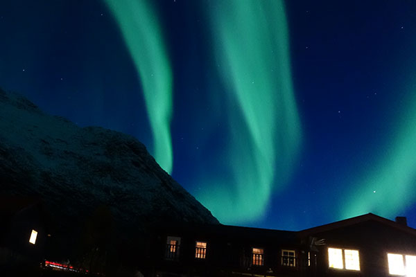 Image of northen lights